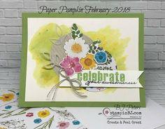 february 2018 paper pumpkin alternative Fun Crafts, Paper Crafts, Stampin Up Paper Pumpkin, Pumpkin Cards, General Crafts, Scrapbook Cards, Scrapbooking, Pretty Cards, Craft Kits