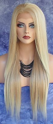 LONG STRAIGHT HEAT SAFE LACE FRONT WIG   T27.613 *STRIKING SEXY USA SELLER 153