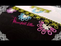 İğne Oyası Çıtı Pıtı Çiçek Modeli Anlatımlı Yapılışı - YouTube Point Lace, Needle Lace, Crochet Flowers, Diy And Crafts, Embroidery, Youtube, Appliques, Drawn Thread, Cut Work