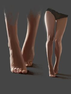 ArtStation - Legs Study , Denis Gómez