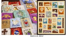 Name Above All Names Devotional: Focusing on 26 Alphabetical Names of Christ with Krista Hamrick's illustrations and my devotionals. All Names, Book Of Life, Beautiful Artwork, Original Artwork, Alphabet, Gallery Wall, Lettering, Quilts, Art Prints