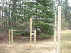 Beautiful Outdoor Pull Up Bar Set