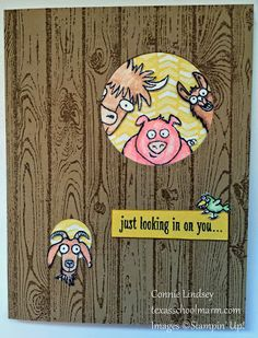 From the Herd, Stampin' Up!
