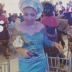 Be A Fashion Trendsetter In These Breathtaking Aso-Ebi Styles! - Wedding Digest Naija