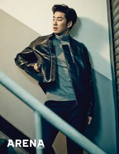 Yoon Kye Sang - Arena Homme Plus Magazine November Issue '14