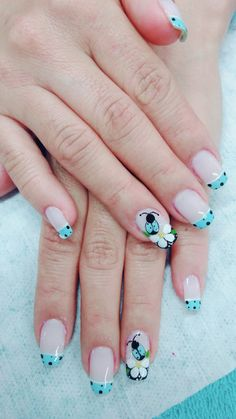 Beauty Mails Fingernail Designs, Pink Nail Designs, Simple Nail Designs, Nail Polish Designs, Acrylic Nail Designs, Cute Nail Art, Cute Nails, Pretty Nails, Butterfly Nail Art