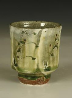 little ash glazed bourbon cup by Phil Rogers