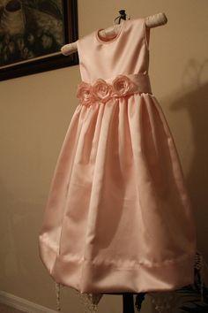 Flower Girl Dress Size 5 by gavella on Etsy, $80.00