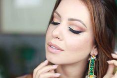 Maquiagem para Noite | Tons Quentes por Juliana Goes | Juliana Goes