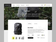 Visval Product Page by Afnizar Nur Ghifari
