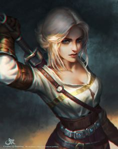 ArtStation - Witcher, Qichao Wang