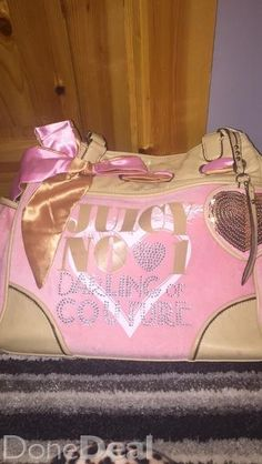 20 ono also comes with matching purse for 15 ono get both for 30 Large Handbags, Handbags On Sale, Juicy Couture Bags, Toddler Bed, Buy And Sell, Purses, Stuff To Buy, Oversized Bags, Handbags