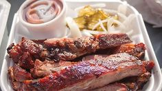 Fargo's Pit Barbecue - At Fargo's, you can dine in, take-out, or enjoy catering services. Come out for some tasty brisket, pork ribs, chicken, sausage, and rib tips. Try some delicious sides or desserts, too!