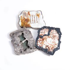 Amanda Denison : Goldsmith / Silversmith, Master enameler on metal, Decorative objects, Enamel, Necklaces