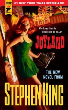 Joyland: Stephen King returns with a pulp fiction thriller. Quite possibly one of my favorite Stephen King books ever. Stephen King It, Steven King, Stephen King Novels, Pulp Fiction, Horror Fiction, Science Fiction, Crime Fiction, Fiction Books, Robert Mcginnis