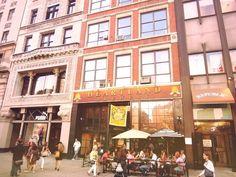 NYC: Cafe, Street, City