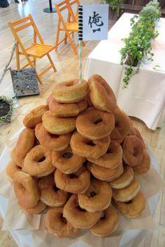 doughnut wedding cake CLASKA ウェディングランド 3 「俺ウェディング」 | Party Report | PARTY | CLASKA