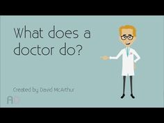 ▶ What does a doctor do? - Preschool Education Video - YouTube