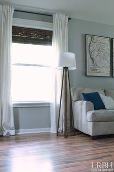 DIY Quadripod Lamp | LITTLE RED BRICK HOUSE