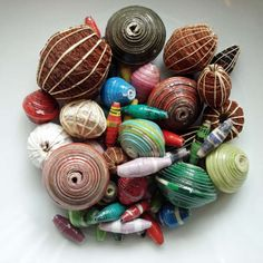 Paper Bead Making Templates