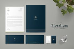Floralium Corporate Identity by ThemeDevisers on @creativemarket