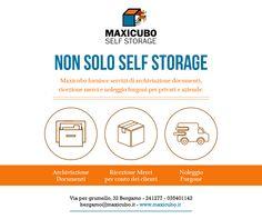 Siamo un #Selfstorage ma offriamo tanti altri servizi! http://www.maxicubo.it/service-category/servizi/ #Maxicubo #Bergamo #Depositomerci #Affittobox