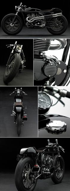 'Triton' called CP Project #1. Created by a team of French motorcycle builders for a Chanel fashion shoot.