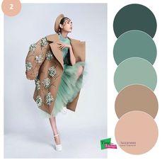 Colour Combinations Fashion, Color Combinations For Clothes, Color Blocking Outfits, Fashion Colours, Color Combos, Color Trends 2018, Pantone Colour Palettes, Vintage Street Fashion, Color Me Beautiful
