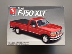 Ford F  Pickup Truck Opened Monogram Kit Found In Storage Ford Model Car And Cars
