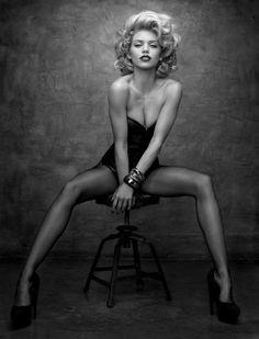 Image detail for -annalynne mccord, beauty, black and white, girl, model - inspiring ...