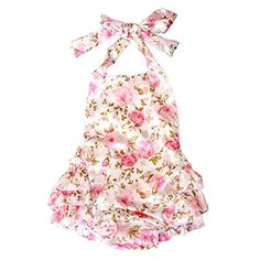 News Lisianthus Baby Girls' Ruffles Romper Dress Summer Clothing Rose A Size 12M   buy now     $14.99 There is 3 layers skirts on the back. It can be used as a romper, a dress, or a beachwear.  Romper Size chart as follows  Size... http://showbizlikes.com/lisianthus-baby-girls-ruffles-romper-dress-summer-clothing-rose-a-size-12m/