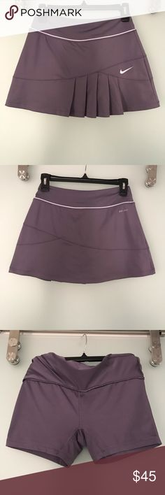 d6ac6e32cd Nike dri-FIT women s tennis skirt. Dri-FIT pleated tennis skort. Built