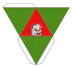 Santa and Snowman: Free Printable Boxes. | Oh My Fiesta! in english
