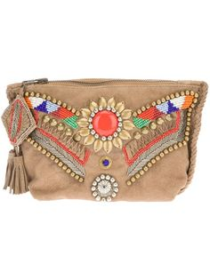 ANTIK BATIK - embellished clutch 7
