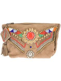 Antik Batik - embellished clutch 7