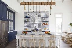 Gathering Place: A Family Shoreside Haven – Texas Monthly American Kitchen Design, Contemporary Kitchen Design, Kitchen Designs, Custom Kitchen Cabinets, Custom Kitchens, Beach House Kitchens, Home Kitchens, Interior Design Photography, Shaker Style