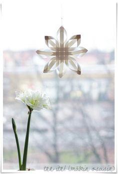 Tee ite: Paperinen joulutähti - Kaikki mitä rakastin | Lily.fi
