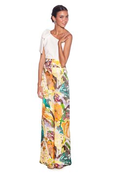 Pantalón Floral Look Fashion, Womens Fashion, Fashion Design, Fiesta Outfit, Look Chic, Homecoming Dresses, Beautiful Outfits, Marie, Casual Outfits