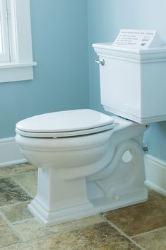 Saving water in the bathroom — Upgrade your toilet for a newer, efficient model and save. Some leaky toilets can waste up to 200 gallons per day.