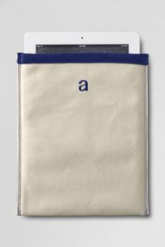 Canvas iPad Case from Lands' End