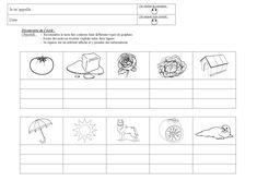 Une activité pour découvrir l'écriture des couleurs dans les 3 graphies. Writing Words, Learning To Write, Graphic Design