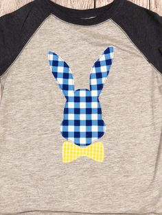 A personal favorite from my Etsy shop https://www.etsy.com/listing/590278375/easter-shirt-for-boys-boys-easter-shirt