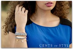 Save 60% on Four Stackable Bracelets---Just $14.95 Shipped!
