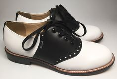 Saddle Oxford, Oxfords - Re-Mix Vintage Shoes