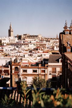 View from Gran Meliá Colon Hotel, Seville, Spain. Photo by: Oliver Pilcher