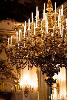 chasingrainbowsforever:  Austrian Chandelier ~ Grand Palace