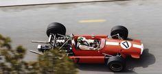 Silvio Moser Brabham BT24 Ford   1969 Monaco Grand Prix