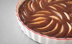 Tarte frangipane aux poires et au chocolat
