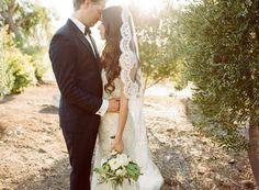 Intimate Greek Garden Inspired Wedding - photo by Beaux Arts Photographie