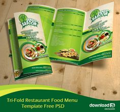 <p>Download Tri-Fold Restaurant Food Menu Template Free PSD. This is Exclusive Professional Tri-fold restaurant brochure / menu template design that features a decent looking food menu / brochure design that will represent your or your client's food Restaurant.  This PSD Restaurant Menu template is perfectly Suitable for Restaurant, Catering, Cafeteria etc Easy to edit font, text, color, fully adobe Photoshop format. The zip file consists of 1 PSD files. This layered PSD is arranged in…